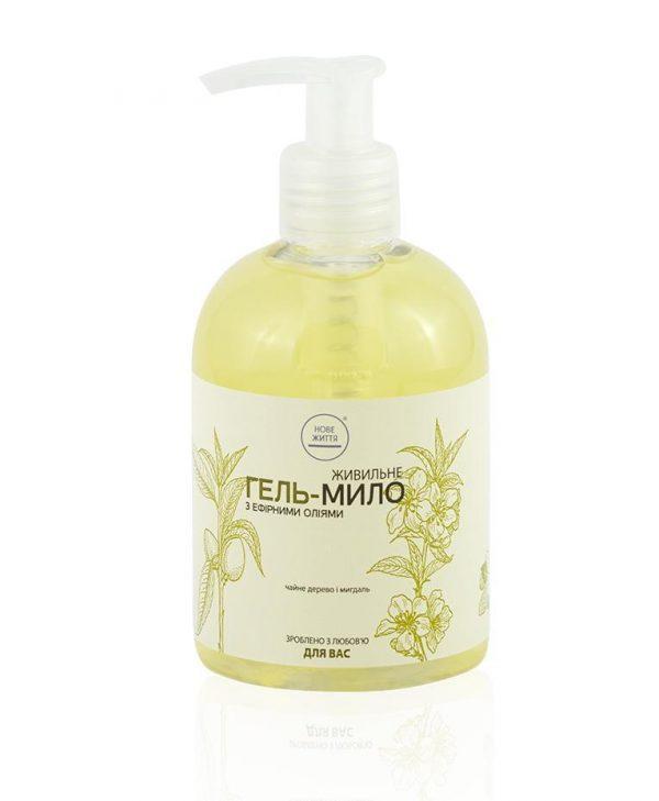 Гель-мыло с запахом чайного дерева