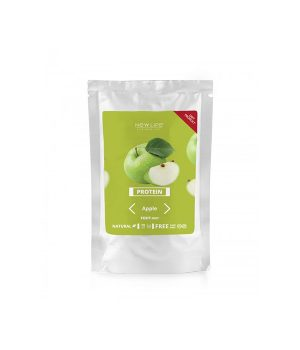 Протеиновый коктейль зеленое яблоко