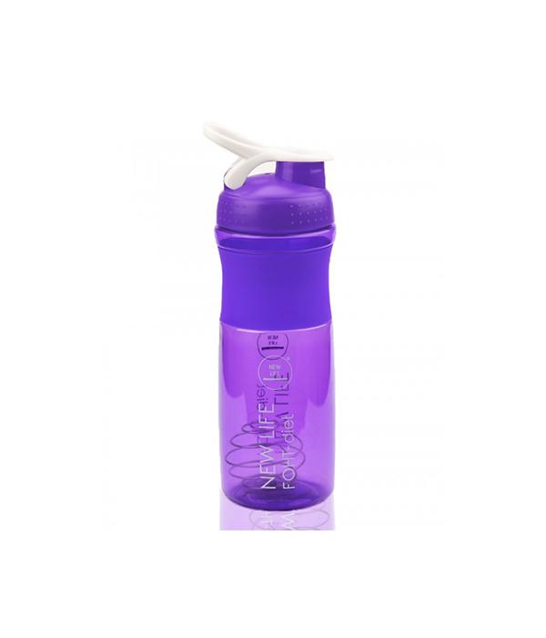 Шейкер для коктейлей фиолетовый