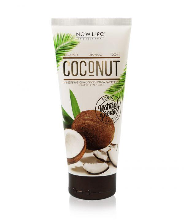 Шампунь с маслом кокоса